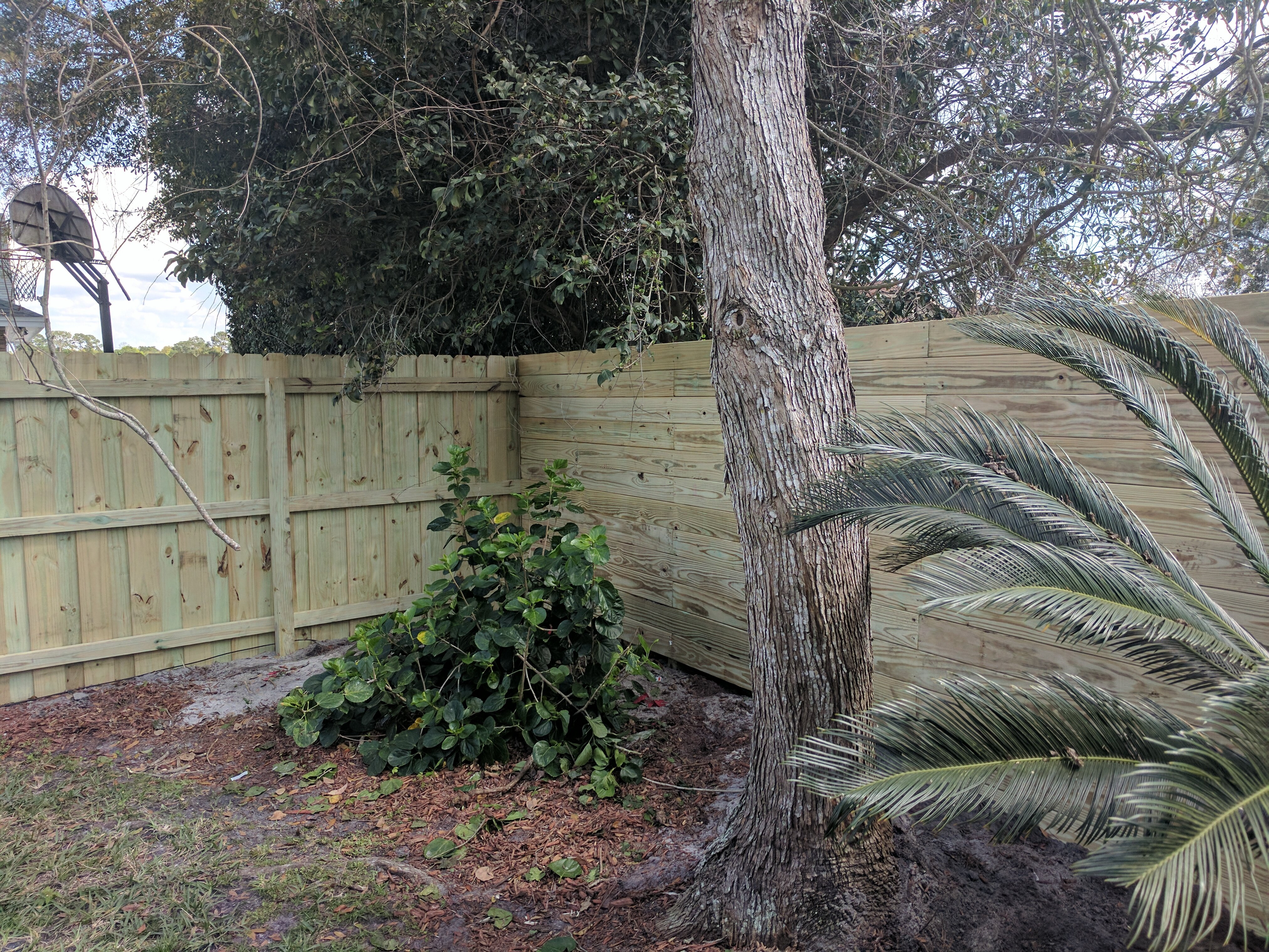 Pictuers Of Custom Horizontal Board Wood Fence Gifford Fence