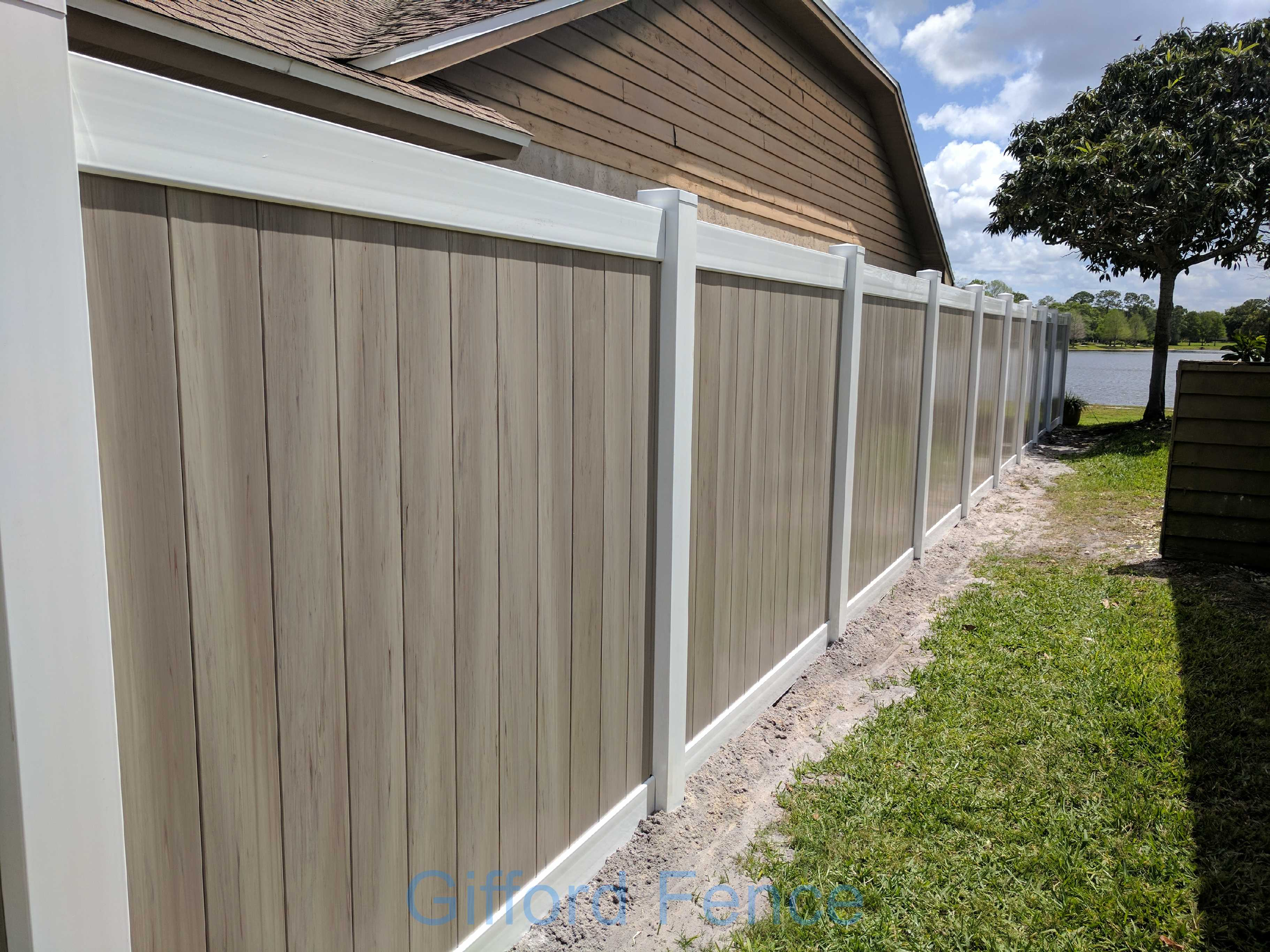 Pictures Of Vinyl Privacy Fences Gifford Fence